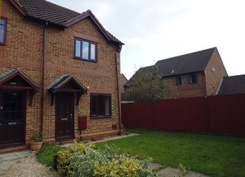 Thumbnail 2 bed semi-detached house to rent in Redhuish Close, Furzton, Milton Keynes