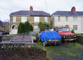 Thumbnail 2 bed semi-detached house for sale in Heol Y Parc, Cefneithin, Llanelli