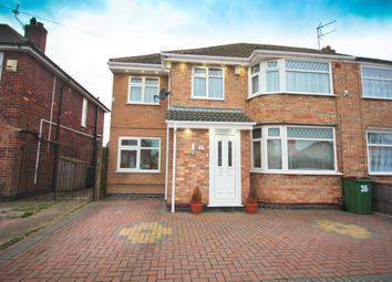 Thumbnail 4 bed semi-detached house for sale in Westfield Avenue, Wigston