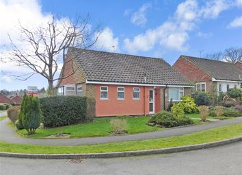 Thumbnail 2 bed detached bungalow for sale in High Cross Fields, Crowborough, East Sussex