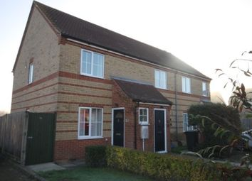 Thumbnail 2 bed semi-detached house to rent in Chauntry Way, Flitwick, Bedford