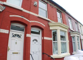 Thumbnail 3 bed terraced house for sale in Stevenson Street, Liverpool