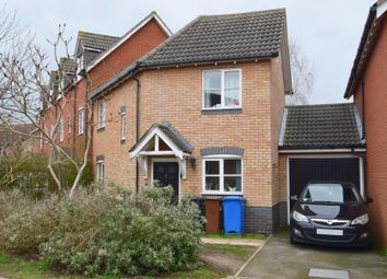 Thumbnail 3 bed end terrace house for sale in Lysander Drive, Ipswich