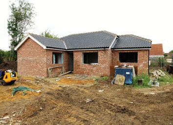 Thumbnail 3 bedroom detached bungalow for sale in Yaxham Road, Dereham, Norfolk