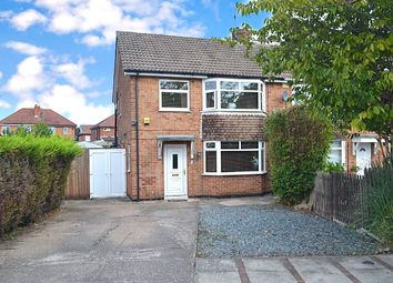 Thumbnail 3 bedroom semi-detached house for sale in Dalkeith Avenue, Alvaston, Derby