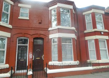 Thumbnail 3 bed terraced house to rent in Hilberry Avenue, Liverpool, Merseyside