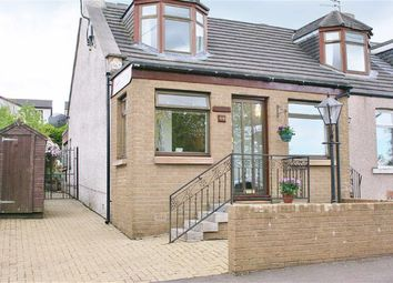 Thumbnail 2 bed semi-detached house for sale in Craiglaw Terrace, Waggon Road, Brightons, Falkirk
