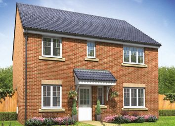 "Thumbnail 5 bedroom detached house for sale in ""The Marleybone "" at Cawston Road, Aylsham, Norwich"