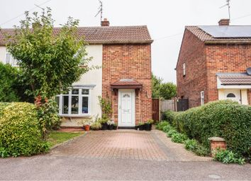 Thumbnail 2 bed semi-detached house for sale in Warwick Road, Peterborough
