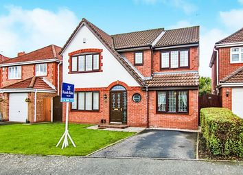 Thumbnail 4 bed detached house for sale in Templeton Crescent, West Derby, Liverpool