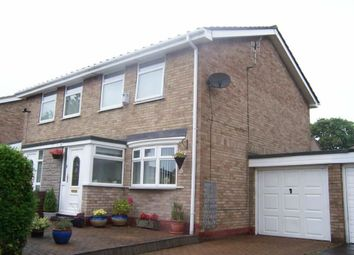 Thumbnail 3 bed semi-detached house to rent in Greely Road, Westerhope, Newcastle Upon Tyne