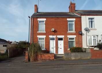 Thumbnail 2 bed end terrace house for sale in Duchess Street, Whitwell, Worksop