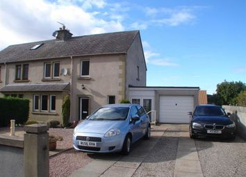 Thumbnail 3 bed semi-detached house for sale in Fleurs Place, Elgin