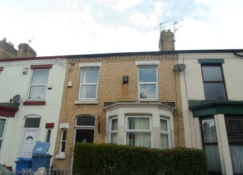 Thumbnail 5 bed terraced house to rent in Blantyre Road, Wavertree, Liverpool, Merseyside