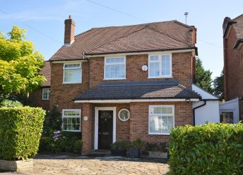 Thumbnail 4 bed detached house to rent in Hillside Road, Ashtead