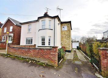 Thumbnail 3 bedroom semi-detached house for sale in Grange Road, Bishop's Stortford