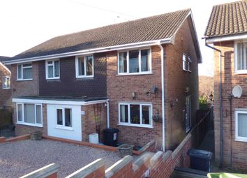 Thumbnail 3 bed semi-detached house for sale in Coomb Drive, Cinderford