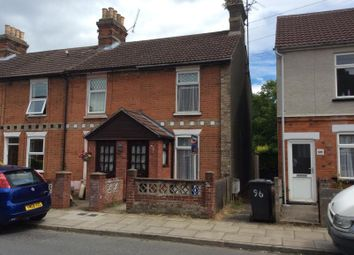 Thumbnail 2 bed property to rent in Wallace Road, Ipswich