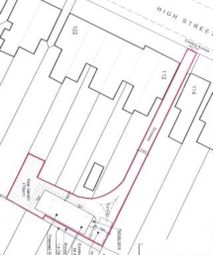 Thumbnail Land for sale in High Street, Shoeburyness, Southend-On-Sea, Essex