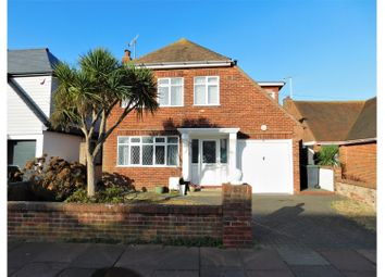 Thumbnail 4 bedroom detached house for sale in Seafield Avenue, Worthing