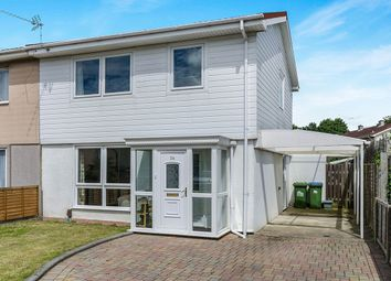 Thumbnail 3 bed semi-detached house for sale in Barnfield Close, Southampton