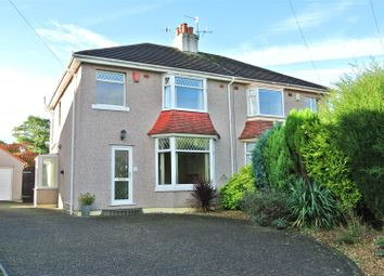 Thumbnail 3 bed property for sale in Hatlex Drive, Hest Bank, Lancaster