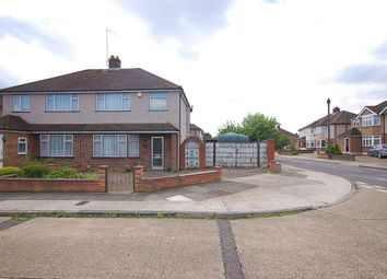Thumbnail 3 bed semi-detached house for sale in Nevis Close, Romford