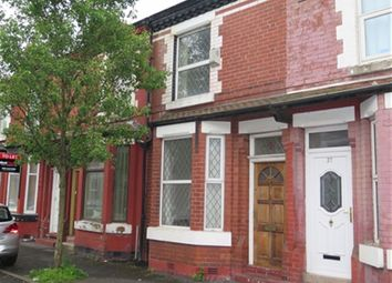 Thumbnail 2 bed property to rent in Camborne St, Rusholme, Manchester