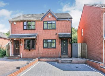 Thumbnail 2 bed semi-detached house for sale in Trajan Hill, Coleshill, Birmingham, .