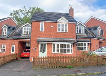 Thumbnail 3 bed link-detached house for sale in Rose Hill, Keyworth, Nottingham