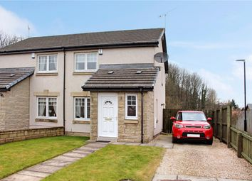Thumbnail 2 bed semi-detached house for sale in Kirkside Crescent, Stirling