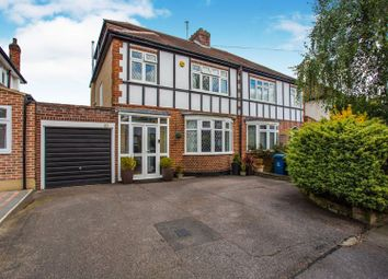 Thumbnail 4 bed semi-detached house for sale in Dawlish Drive, Pinner