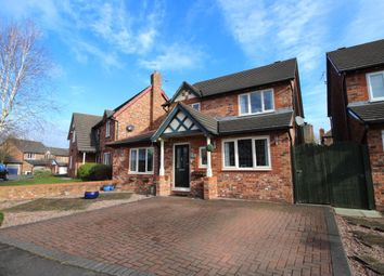 Thumbnail 4 bed detached house for sale in Mereworth Drive, Kingsmead, Northwich