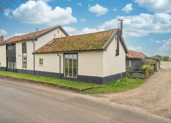 Thumbnail 4 bed barn conversion for sale in Attleborough Road, Little Ellingham, Attleborough