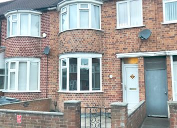 Thumbnail 3 bed town house for sale in Kitchener Rd, Leicester