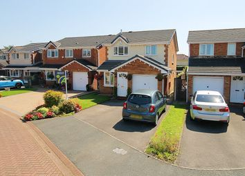 Thumbnail 3 bed detached house for sale in Wensleydale Close, Great Sankey, Warrington