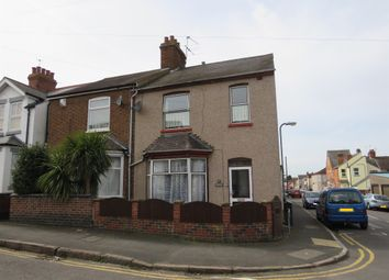Thumbnail 3 bed end terrace house for sale in Claremont Road, Rugby