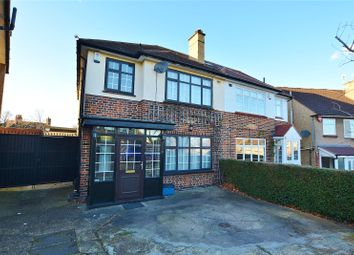Thumbnail 3 bed semi-detached house to rent in Highland Drive, Bushey, Hertfordshire