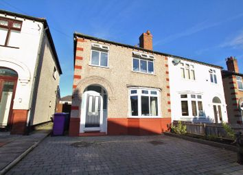 Thumbnail 3 bed semi-detached house for sale in Daffodil Road, Wavertree, Liverpool L15.