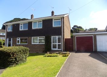 Thumbnail 3 bed semi-detached house for sale in Fairview Close, Hythe