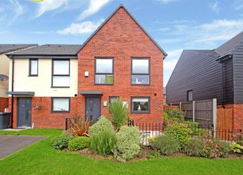 Thumbnail 3 bed semi-detached house for sale in Eaves Lane, Stoke-On-Trent