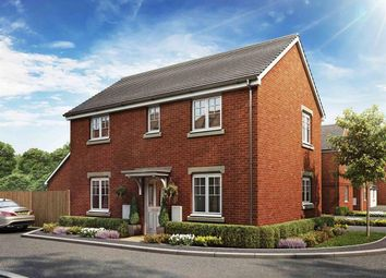 "Thumbnail 3 bed detached house for sale in ""The Clayton Corner "" at Newlands Drive, Grove, Wantage"