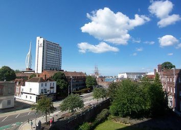 Thumbnail 2 bedroom flat to rent in Malborough House, Queen Street, Portsmouth