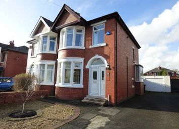 Thumbnail 3 bedroom semi-detached house for sale in Glenluce Drive, Preston, Lancashire