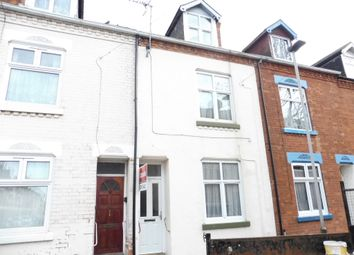 Thumbnail 4 bed terraced house for sale in Florence Road, Highfields, Leicester