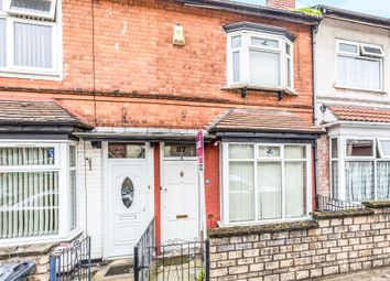 3 bed terraced house for sale in Victoria Road, Handsworth, Birmingham B21