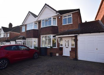 Thumbnail 3 bedroom semi-detached house for sale in Knightsbridge Road, Solihull