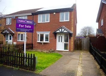 Thumbnail 3 bedroom semi-detached house for sale in Wentworth Crescent, New Holland, Barrow-Upon-Humber