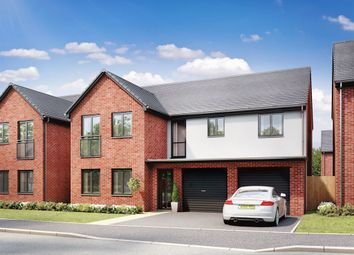 "Thumbnail 5 bedroom detached house for sale in ""The Fenchurch"" at Llantrisant Road, Capel Llanilltern, Cardiff"
