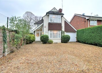 Thumbnail 3 bed detached house for sale in Frimley Road, Camberley, Surrey